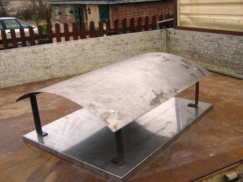 Produits divers normandie ferronerie artisan ferronnier en normandie et pays d 39 auge - Chapeau de cheminee en beton ...