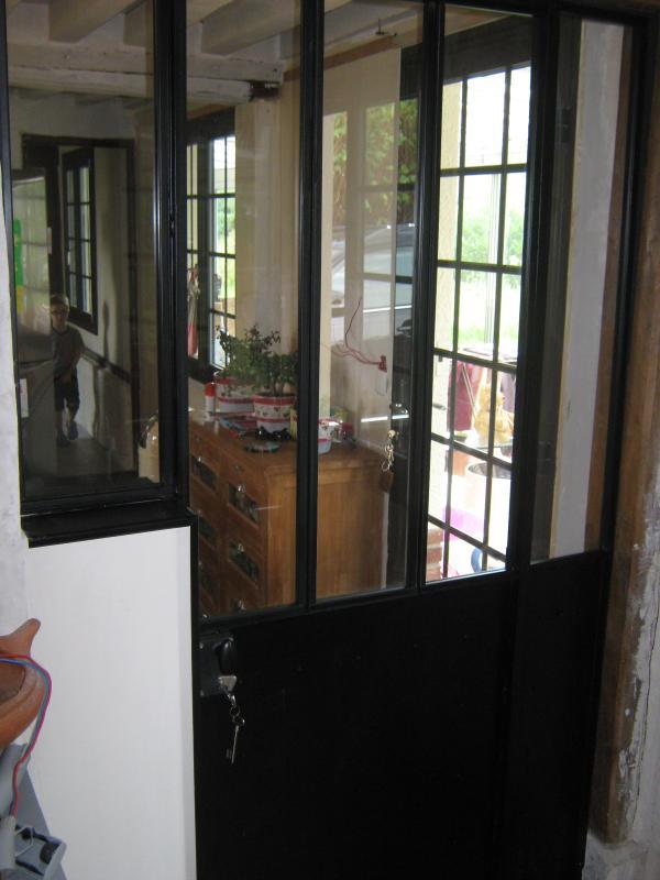 verri re d 39 int rieur porte sur gonds normandie ferronerie artisan ferronnier en normandie. Black Bedroom Furniture Sets. Home Design Ideas