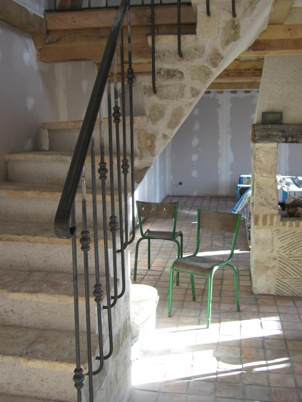 Rampe d\'escalier et balustrade - Normandie Ferronerie ...