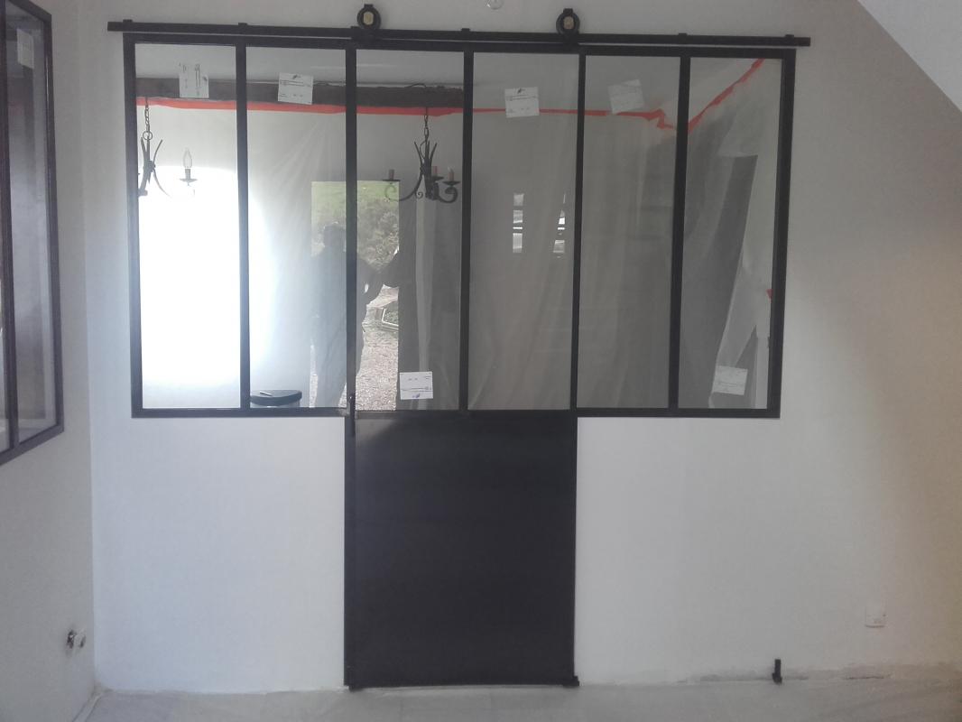 verri re d 39 int rieur galandage normandie ferronerie artisan ferronnier en normandie et pays. Black Bedroom Furniture Sets. Home Design Ideas